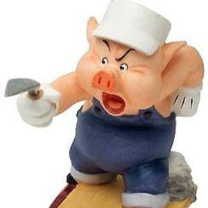 Walt Disney Three Little Pigs Figurine